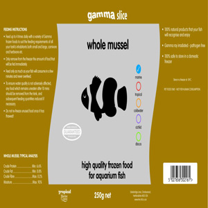 Mysis Shrimp Slice Flat Pack 250g